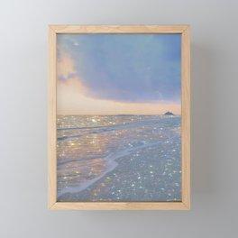 Magic ocean Framed Mini Art Print