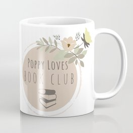 Poppy Loves Book Club Coffee Mug