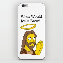 What Would Jesus Brew? iPhone Skin