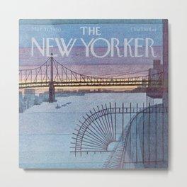 The New Yorker - 03/1980 Metal Print