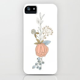 Pure Flowers iPhone Case