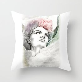 Fallen Faery Throw Pillow