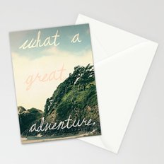 what a great adventure Stationery Cards