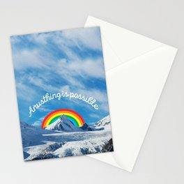 Anusthing is possible in Alaska Stationery Cards