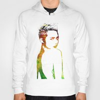 miley Hoodies featuring Miley Cyrus by Greg21