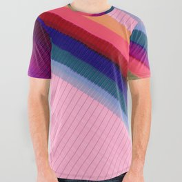 Color Wave ~016~ All Over Graphic Tee