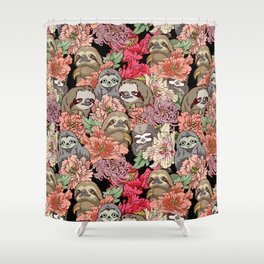 Because Sloths Shower Curtain