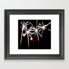 Palms of Fire Framed Art Print