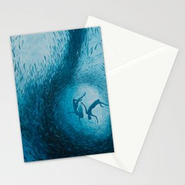Let's Never Stop Falling in Love Stationery Cards