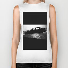 Car at night Biker Tank
