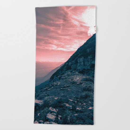Path of Courage Beach Towel