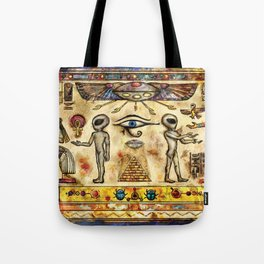 Ancient Aliens Tote Bag