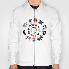 Rorschach test subjects' perceptions of inkblots psychology   thinking Exner score Hoody