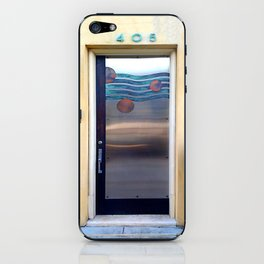 405 Sea Door iPhone Skin