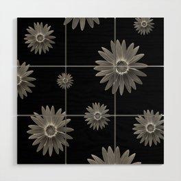 Monochrome Wood Wall Art
