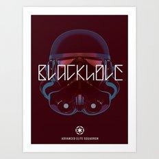Blackhole Squadron Art Print