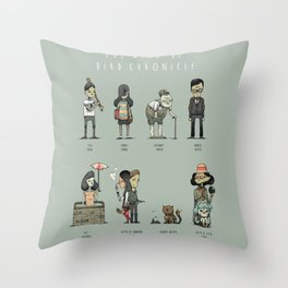 The Wind-up Bird Chronicle Throw Pillow