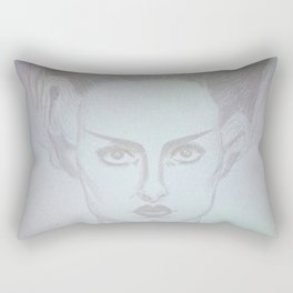 frankie's girl Rectangular Pillow