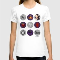 regina mills T-shirts featuring Once Upon A Time, Regina Mills by Your Friend Elle