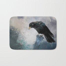 Black Crow Bath Mat