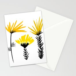 Sunny Days Ahead / floral art Stationery Cards