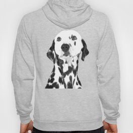 Black and White Dalmatian Hoody