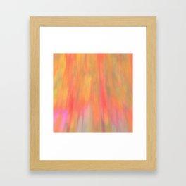 Color Fall Framed Art Print