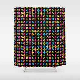 CandyDots Licorice Shower Curtain
