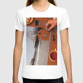 Santa Monica Pier Puzzle Solver T-shirt