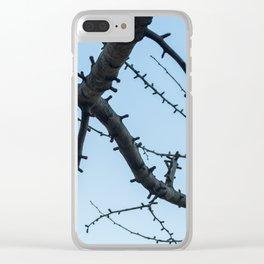 Beautiful Ginkgo Biloba branches Clear iPhone Case