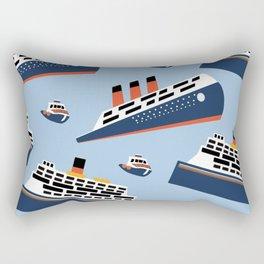 Ferryboat Scrub Caps Rectangular Pillow