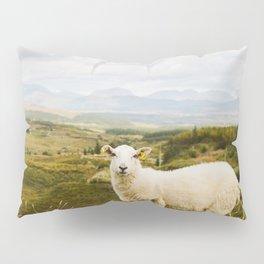 A sheep in the Irish hills Pillow Sham