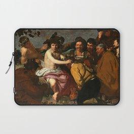 """Diego Velázquez """"The Triumph of Bacchus (El Triunfo de Baco o Los Borrachos)"""" Laptop Sleeve"""