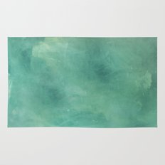 Turquoise Stone Texture Rug
