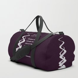 Courage Does Not Always Roar. Duffle Bag