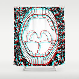 Hyalophobia Shower Curtain