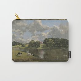 John Constable Wivenhoe Park, Essex 1816 Painting Carry-All Pouch