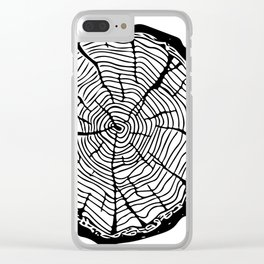 El soc Clear iPhone Case