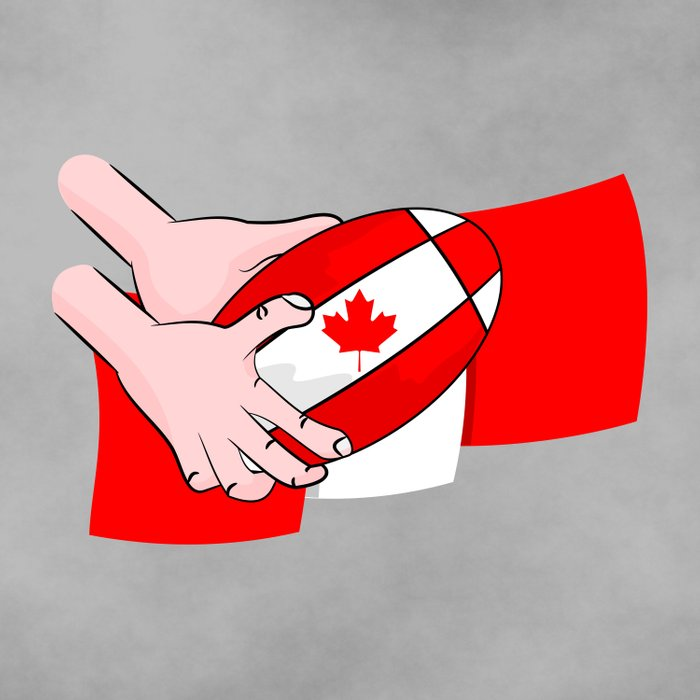 Canada Rugby Flag Comforters