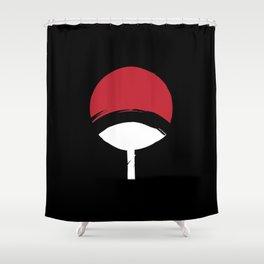 Uchiha Clan Logo Shower Curtain