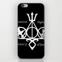 fandom iPhone & iPod Skins featuring International Highschool of All Fandom by sokteulu