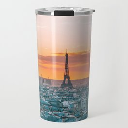 Sunset in Paris (Color) Travel Mug