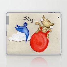Bouncy Kitteh! Laptop & iPad Skin