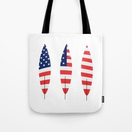 USA Feathers Tote Bag