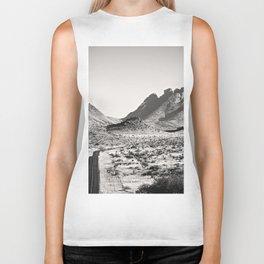 The Lost Highway III Black & White Biker Tank