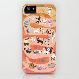 All the cats join in ~ iPhone Case