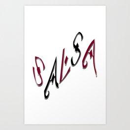 Salsa Top Hit Art Print