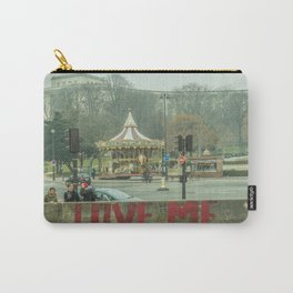 LOVE ME SOME PARIS Carry-All Pouch