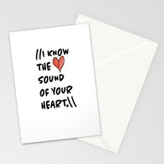 Sound of Your Heart Stationery Cards