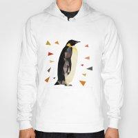 penguin Hoodies featuring penguin by gazonula